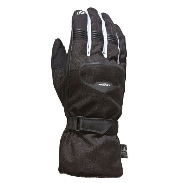 Gants Moto Ixon Pro Rush Black White