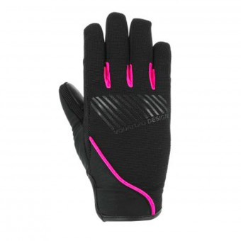 Gants Moto V'Quattro Section 17 Lady Black