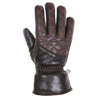 Gants Moto Helstons Caprice Lady Black Brown