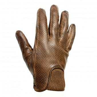 Gants Moto Helstons Charly Perfore Camel Noir