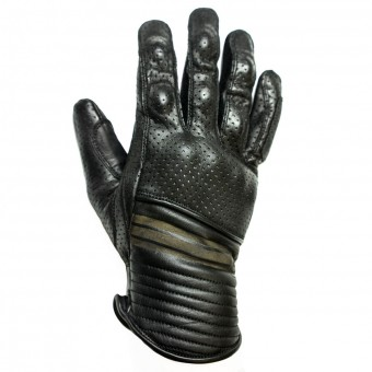 Gants Moto Helstons Corporate Perfore Noir