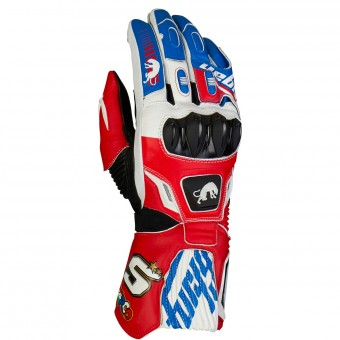 Gants Moto Furygan FIT-R2 Zarco Blue White Red