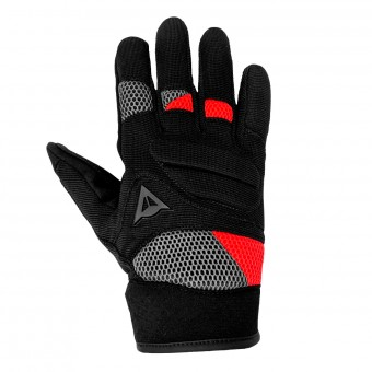 Gants Moto Dainese Fogal Unisex Black Red