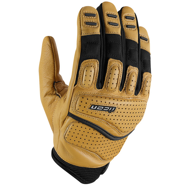 Gants Moto ICON Superduty 2 Tan