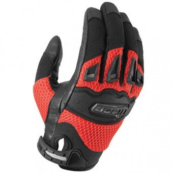 Gants Moto ICON Twenty-Niner Red