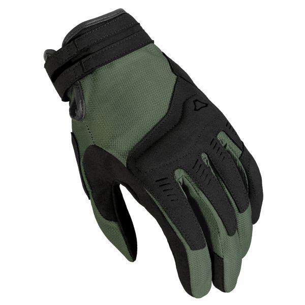 Gants Moto Macna Darko Green Black
