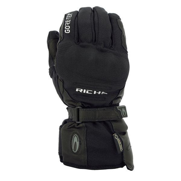 Gants Moto Richa Ice Polar Gore-Tex Black