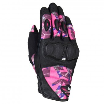 Gants Moto Furygan Graphic Evo 2 Lady Black Pink