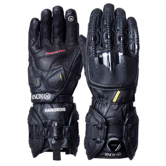 Gants Moto Knox Handroid MK4 All Black
