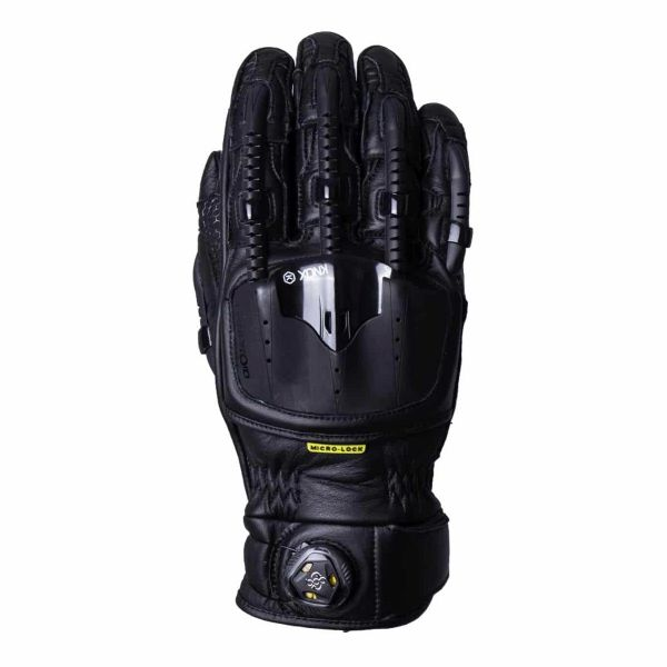 Gants Moto Knox Handroid MK4 Pod All Black