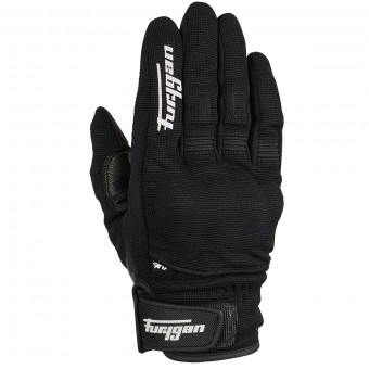 Gants Moto Furygan Jet D3O Black White