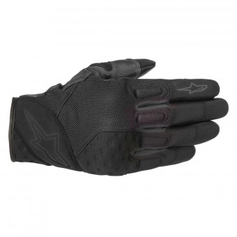 Gants Moto Alpinestars Kinetic Black Black