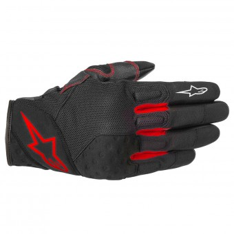 Gants Moto Alpinestars Kinetic Black Red