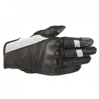Gants Moto Alpinestars Mustang V2 Black White