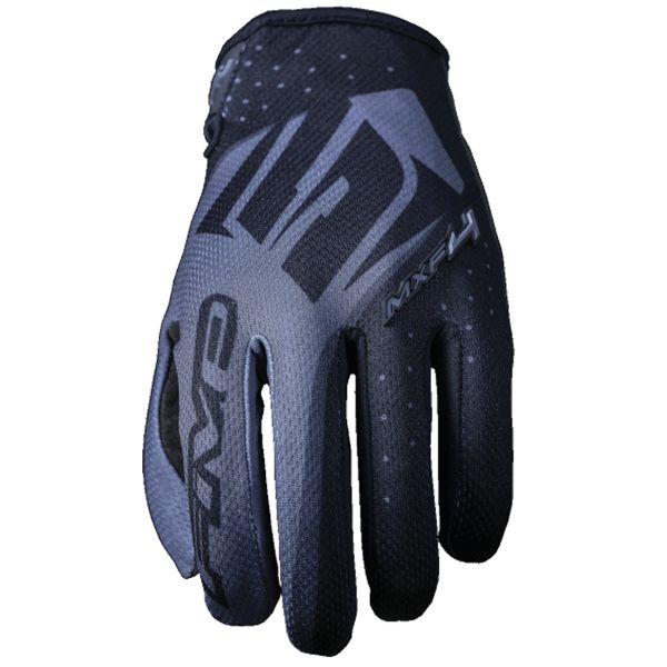 gants moto five mxf4 noir au meilleur prix. Black Bedroom Furniture Sets. Home Design Ideas