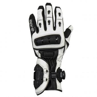 Gants Moto Knox Nexos Black White