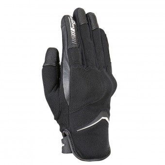 Gants Moto Furygan Oksi D3O Black White