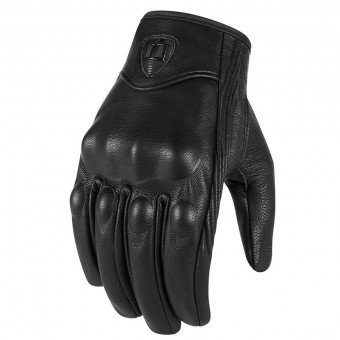 Gants Moto ICON Pursuit CE Black