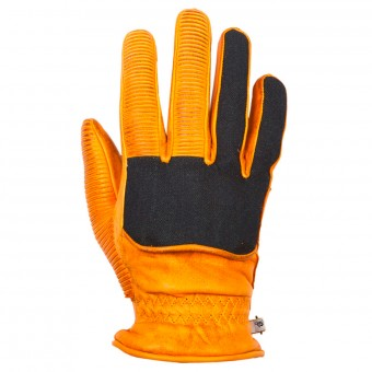 Gants Moto Helstons Ranchero Winter Gold Denim