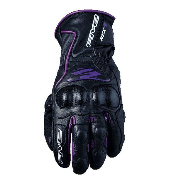 Gants Moto Five RFX4 Femme Noir Violet