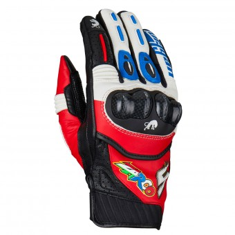 Gants Moto Furygan RG19 Zarco Blue White Red