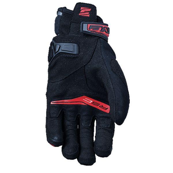gants moto five rs c noir rouge au meilleur prix. Black Bedroom Furniture Sets. Home Design Ideas