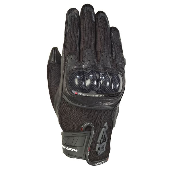Gants Moto Ixon RS Rise Air Lady Noir