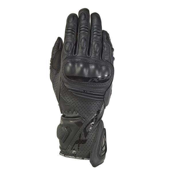 Gants Moto Ixon Rs Tempo Air Lady Noir