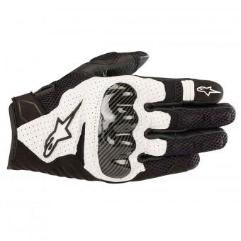 Gants Moto Alpinestars SMX-1 Air V2 Black White