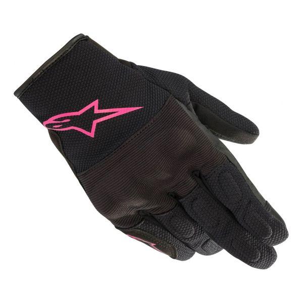 Gants Moto Alpinestars Stella S Max Drystar Black Fuchsia