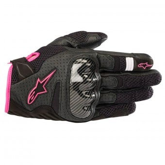 Gants Moto Alpinestars Stella SMX-1 Air V2 Black Fuchsia