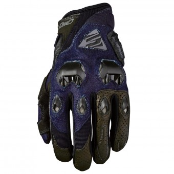 Gants Moto Five Stunt Evo Denim