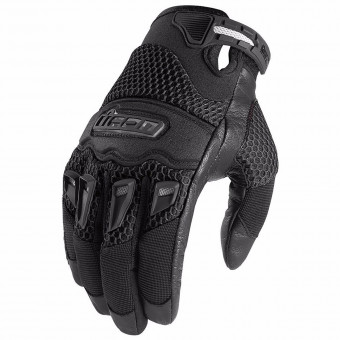 Gants Moto ICON Twenty Niner CE Black