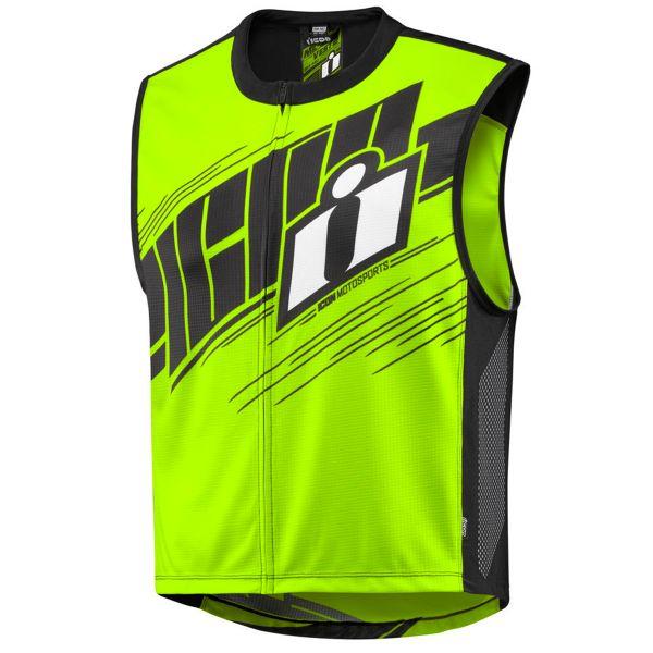 Gilet Moto ICON Mil-Spec 2 Vest Hi-Viz Yellow