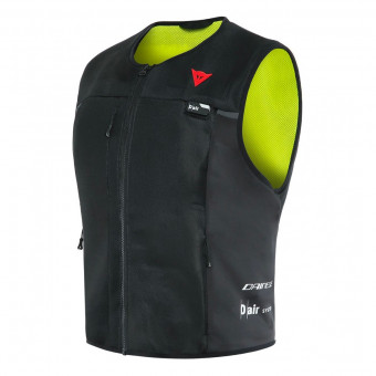 Gilet Moto Dainese Smart Jacket Airbag Black Fluo Yellow