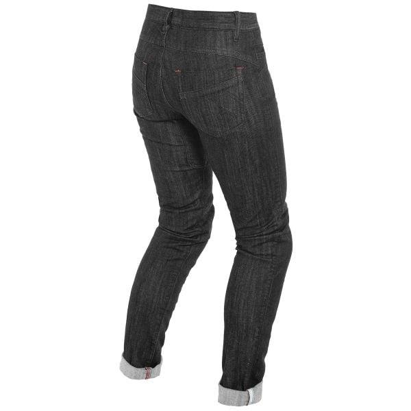 Dainese Alba Slim Lady Jeans Black Rinsed