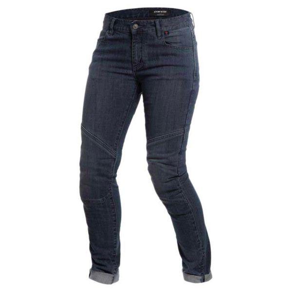 Jeans Moto Dainese Amelia Slim Lady Dark Denim
