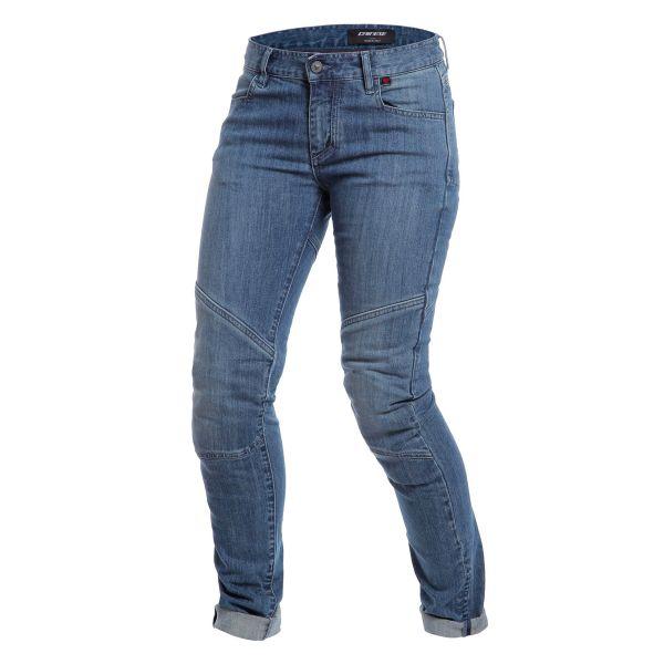 Jeans Moto Dainese Amelia Slim Lady Medium Denim