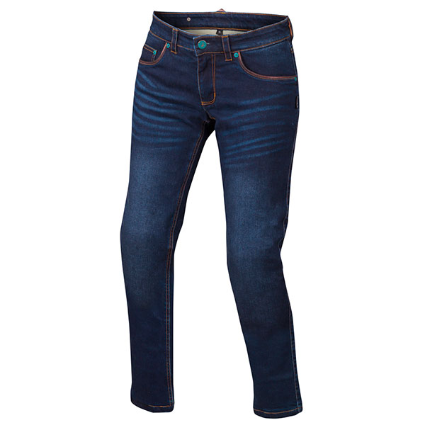 Jeans Moto Bering Lady Donovan Bleu