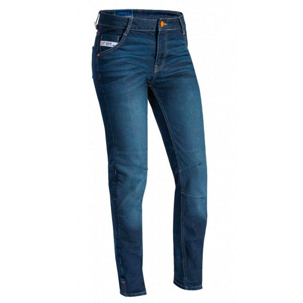 Jeans Moto Ixon Mikki Bleu Femme