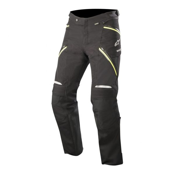 Pantalon Moto Alpinestars Big Sur Gore-Tex Pro Pants Black Yellow Fluo