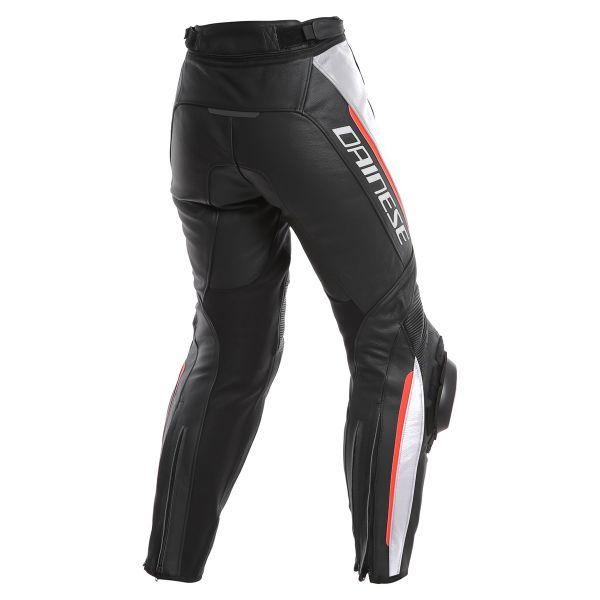 pantalon moto dainese delta 3 black white red au meilleur prix. Black Bedroom Furniture Sets. Home Design Ideas