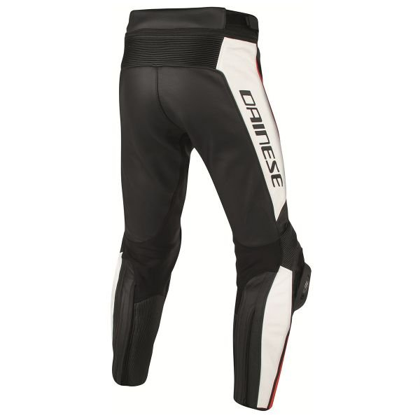 Dainese Misano Perforated Black White Red Fluo