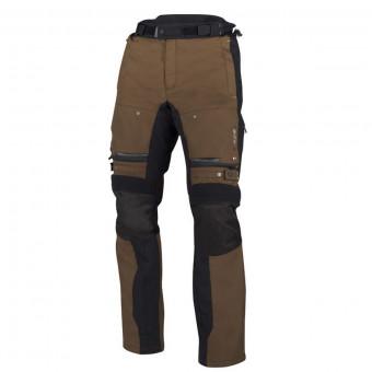 Pantalon Moto Bering Bronco Pant Noir Marron