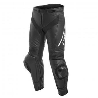 Pantalon Moto Dainese Delta 3 Black White Short