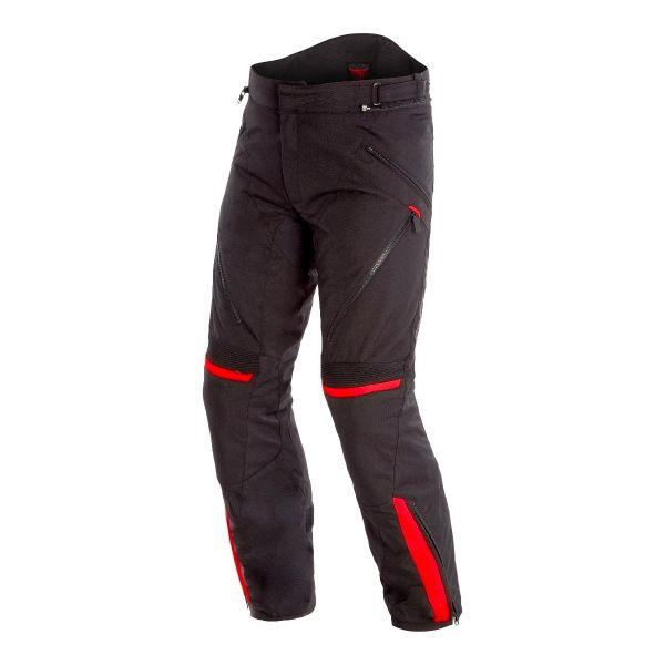 Pantalon Moto Dainese Tempest 2 D-Dry Pants Black Tour Red