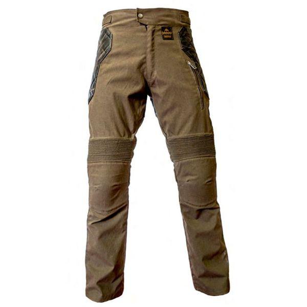 Pantalon Moto Helstons Tokyo Kevlar Kaki