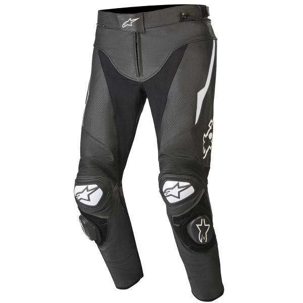 Pantalon Moto Alpinestars Track V2 Black White