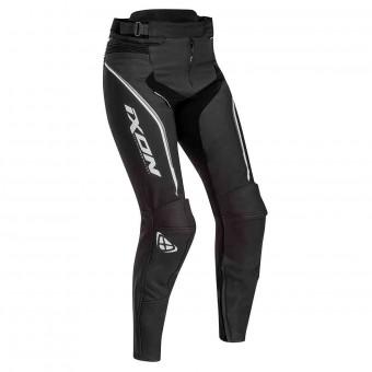 Pantalon Moto Ixon Trinity Pant Noir Blanc Gris
