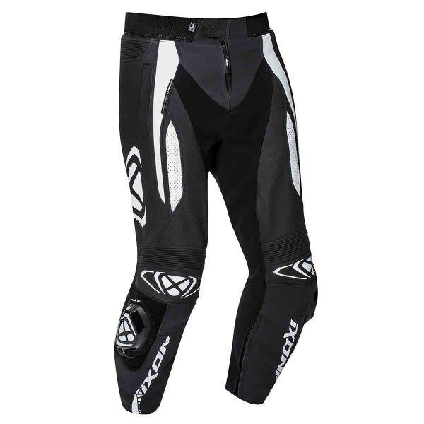 Pantalon Moto Ixon Vortex 2 Pant Noir Blanc